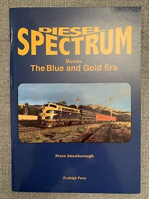Diesel Spectrum VR The Blue & Gold Era By Peter Attenborough - Excellent