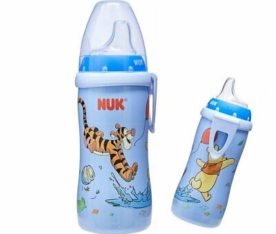 NEW NUK Winnie the Pooh Sippy Cup 12M+  Active Baby Toddler Disney Tigger Bottle