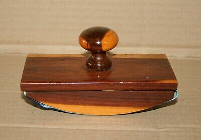 mulga wood ink blotter, excellent condition.