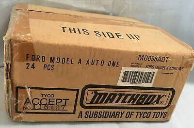 Case of 24 Matchbox MB38 Ford Model A Van AUTO ONE - BRAND NEW IDEAL for PROJECT