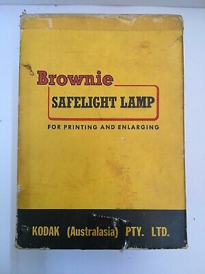 Vintage Collectable Kodak Brownie Safelight for Printing and Enlarging
