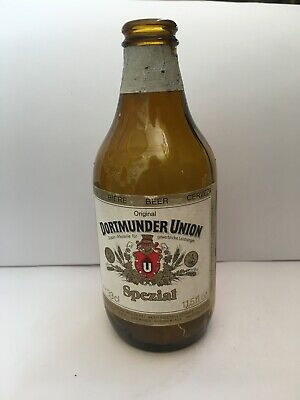 Collectable - Beer Bottle Dortmunder Union Special, 330ml, West Germany