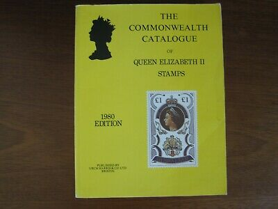 Stanley Gibbons 1980 Commonwealth Stamp catalogue of Queen Elizabeth II stamps