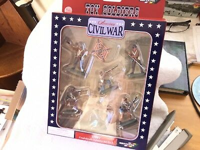 Britains Detail Series American Civil War Confederate Infantry( Six) 1:32 Scale