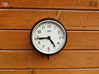 Vintage Smiths Sectric Small Wall Clock, Bakelite. Restored & Updated No Wires!