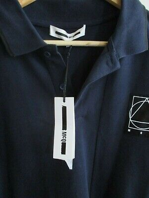 McQ (McQueen) Polo Shirt, New With Tags - Royal Blue - Large