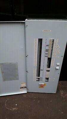 SQUARE D KQ 24-Way MCB Distribution Board LoadCentre 125Amp Main & Breakers