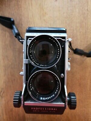Mamiya C3 TLR 120 Roll  Film Camera inc 80mm f2.8 for repairs very clean