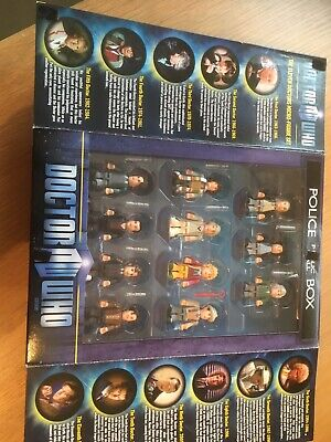 Doctor Who Character Building The Eleven Doctors Micro-Figure Set