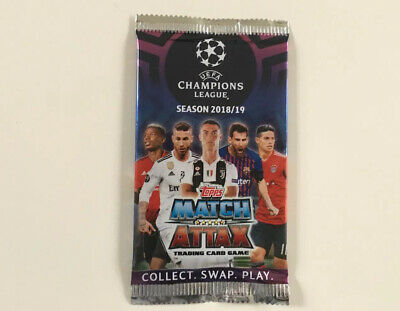 match attax champions league 2018/19 Single Pack