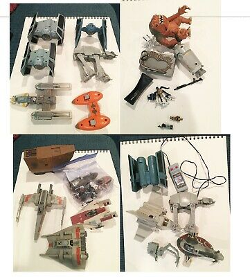 Star Wars action fleet vehicle lot loose 90's era