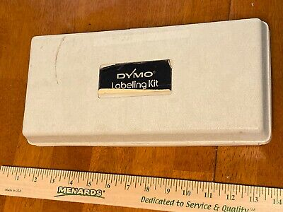 vintage Dymo Labeling Kit complete & originalBENEFITS CHARITY