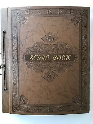 Vintage Greeting Card Scrapbook 1940 -1950 almost 200 cards