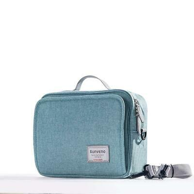 SUNVENO Nappy Changing Bag Sets Waterproof large, Pure green