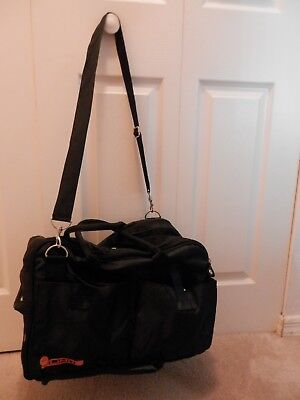 Small Deluxe,Sturdy Pet Carrier,Soft-Sided,Airline Approved,Black