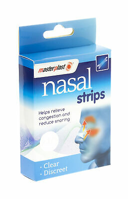 Nasal Nose Strips Pack Of 20 Relieve Congestion Snoring Relief Sleep Drug Free