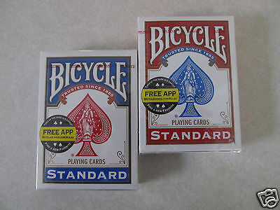 Poker-Gamblers Marked Cards-Bicycle BRAND -  Rider Backs -