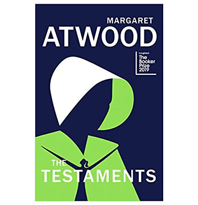The Testaments: The Sequel to The Handmaid's Tale Hardcover--- BOOK