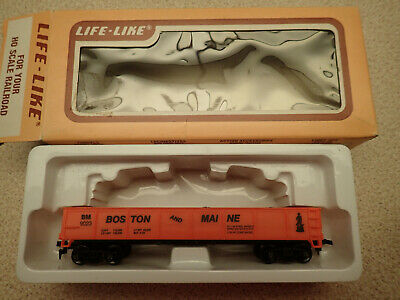 Life Like Trains HO Gauge 8567 Gondola Car Boston & Maine MIB