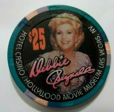 Debbie Reynolds $25 Casino Poker Chip Las Vegas ☀ Nv Obsolete Closed Casino