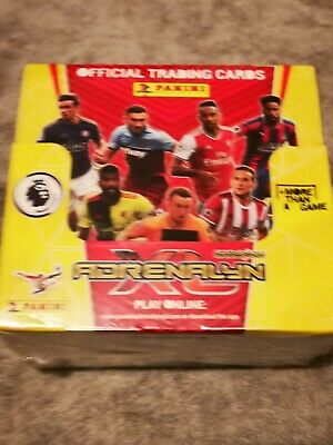 Panini Premier League 2019/20 Adrenalyn XL Full Box 50 Packets New Fast delivery