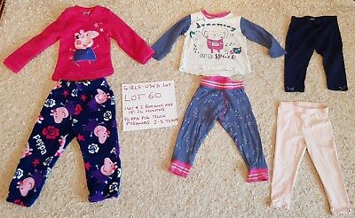 Baby Clothes Girls Clothes Peppa Pig Joblot 60 For 12-18 -24 Months Toddler Baby