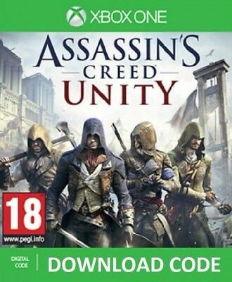 DIGITAL Assassin's Creed Unity DOWNLOAD XBOX ONE Full Game redeem on Xbox Live