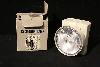 Chloride Bike Lamp in box unused, Cycle Front Lamp Battery operated