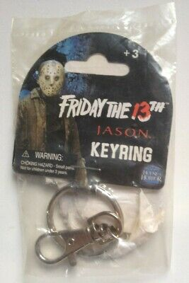 Jason Vorhees METAL KEYCHAIN KEYRING Friday The 13th  NWT Horror