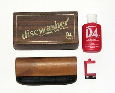 D4 Discwasher Record Care System