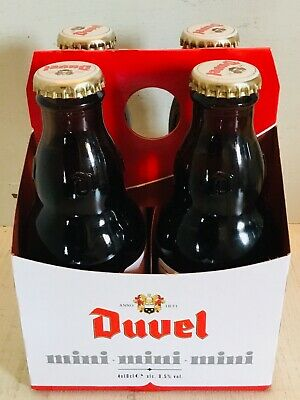 DUVEL Brewery MOORTGAT MINI MINI MINI Small is beatifull 4 bottles package RARE