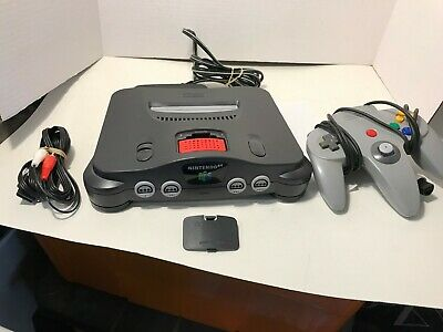 N64 Console With Expansion Pack And  Controller