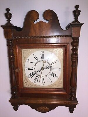 Vintage Collectible Rare Electro-Mechanical 1948 NuTone Wall Clock, built in USA