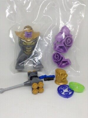Lego Marvel Avengers End Game Thanos Minifigure From Set 76131 Compound Battle