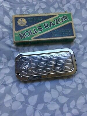 Vintage Rolls Razor Imperial No. 2 Made In England With Original Box