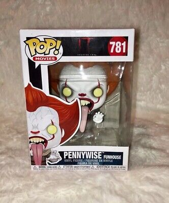 Funko POP! IT Chapter 2 Blood Splatter Pennywise Funhouse #781 Vinyl Figure