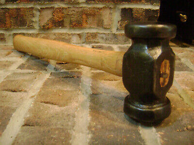 Vintage Cast Iron Blacksmith Rounding Hammer Anvil Forge Tools