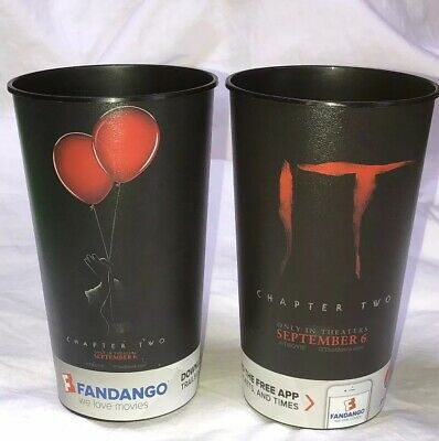 IT Ends Chapter Two Stephen King Movie Drink Cup Halloween Free Shipping