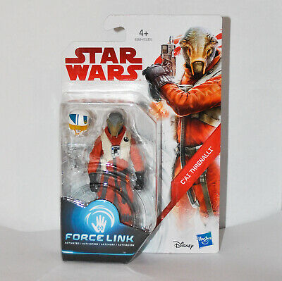 "STAR WARS Force Link - C'AI THRENALLI 3.75"" Action Figure, New, Hasbro 2017"