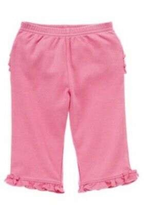 Gymboree Mini Blooms 3-6 18-24 mo Pink Ruffle Pants Easter Spring 12