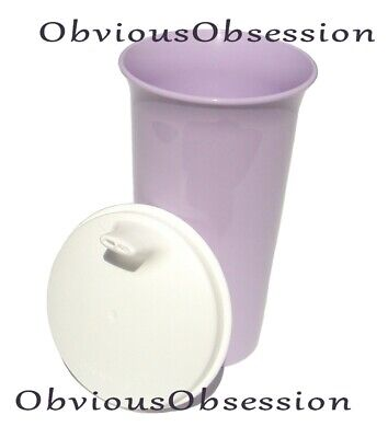 Tupperware Bell Tumbler Big 10.5 oz Sipper Seal Sippy Baby Kids Cup Vtg Purple