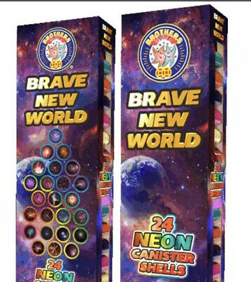 Brave New World By Brothers Firework Label 3pcs