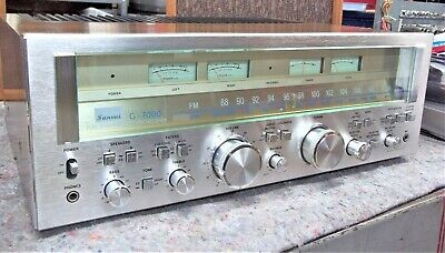 Vintage Sansui G-7000 Stereo Receiver, Tested, Serviced, NICE!