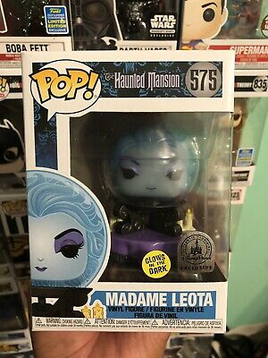 Disney Parks Exclusive GITD Madame Leota Funko Pop Haunted Mansion 50th