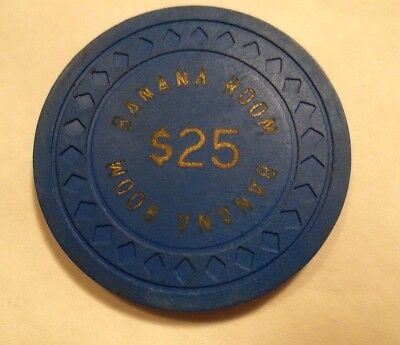 POKER CHIP CASINO BANANA ROOM VINTAGE AUTHENTIC TAKE A LOOK ~ hotbid22