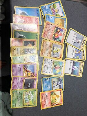 Lot De carte pokemon « set de base »