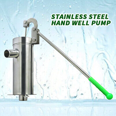 stainless steel hand well pump Manual Water Pump(10 meters of groundwater depth)