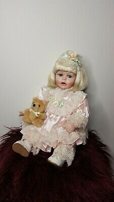 Vintage Porcelain Doll - Jessica Heritage Heirloom Collection