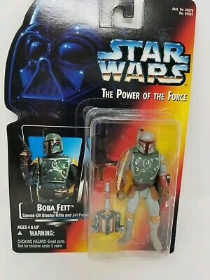 Star Wars Boba Fett Power of the Force POTF Action Figure 1995 Kenner 3.75 inch
