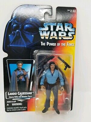 Star Wars Lando Calrissian Power of the Force POTF Action Figure 3.75